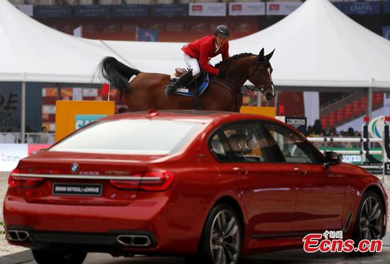Trop equestrian event held in Beijing