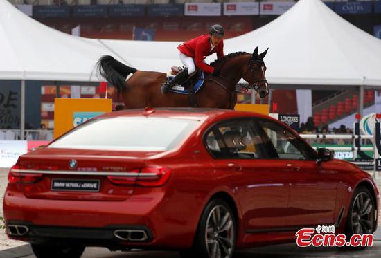 Trop equestrian event held in Beijing