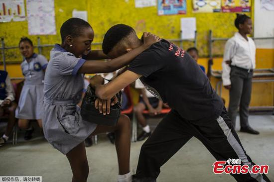 As rape crisis grows, South African pupils learn how to fight back