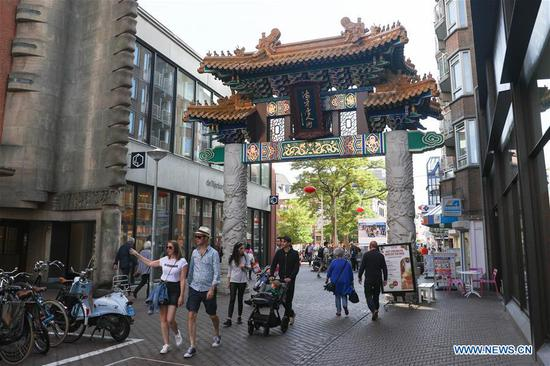 In pics: Hague's Chinatown