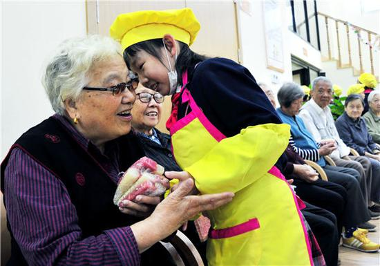Chongyang: Out with the old, in with the elderly