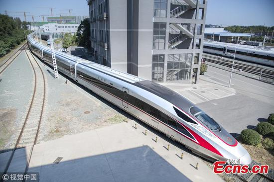 439.8m Fuxing bullet train to start operation next year