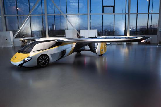 AeroMobil flies car into China's upcoming import exp