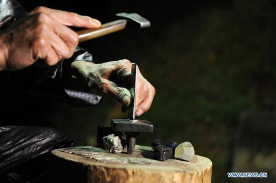 Traditional Lusheng making in SW China's Guizhou