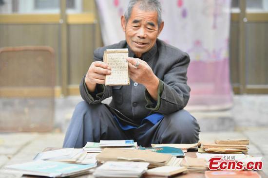 76岁男子的108本日记展现了农村的变化