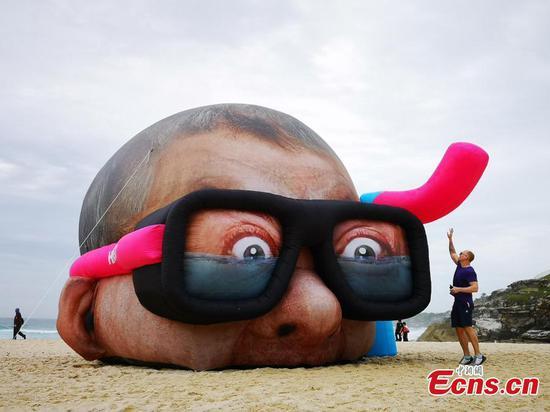 海边雕塑重返悉尼海岸