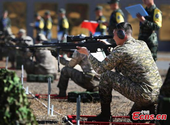 China hosts int'l sniping competition