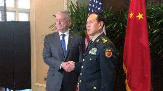 China, U.S. agree to further enhance cooperation between militaries