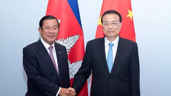 China, Cambodia to enhance trade, investment cooperation