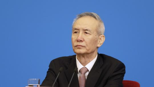 Chinese vice premier analyzes economic, financial hot issues