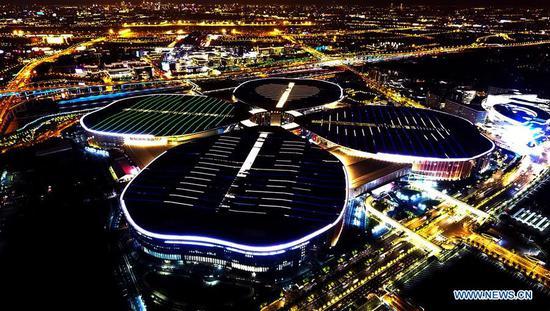 第一届中国国际进口博览会主会场