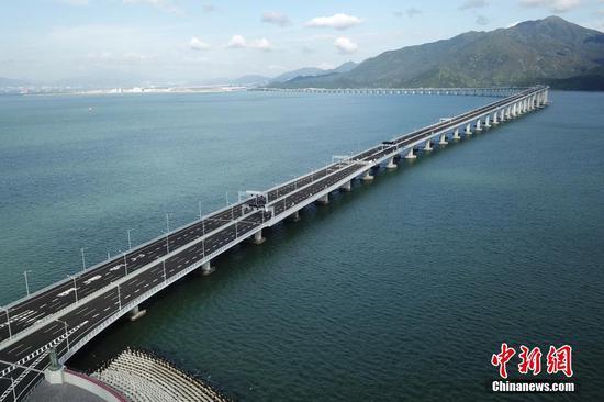 5G to be expected on world's longest cross-sea bridge