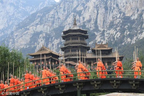 Kung fu festival kicks off in Henan