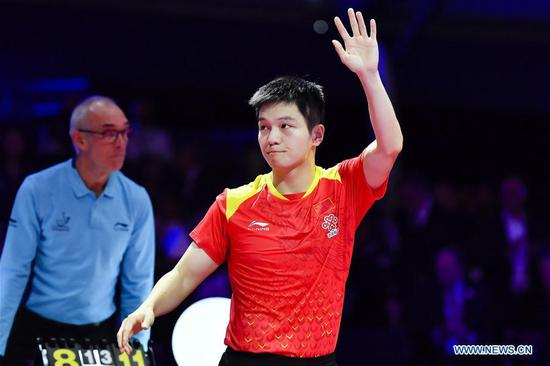 China's Fan claims 2nd ITTF Men's World Cup