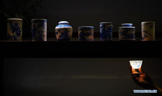 Eggshell porcelain in 'China's porcelain capital' Jingdezhen