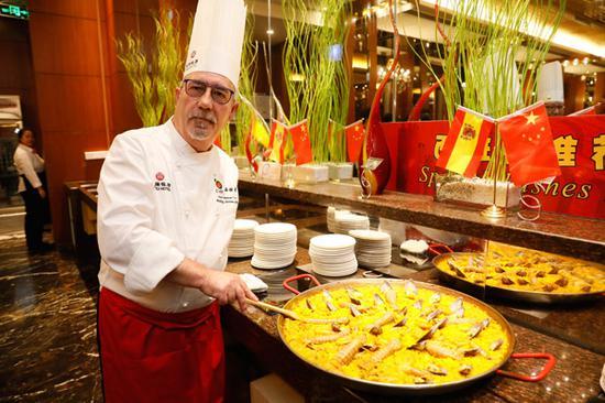 A taste of Spain at Beijing food festival