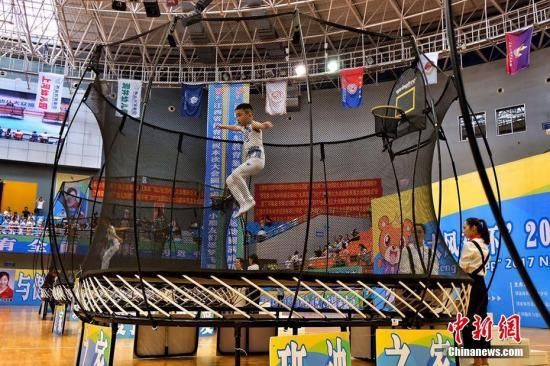 Trampolining bounces to rapid growth in China