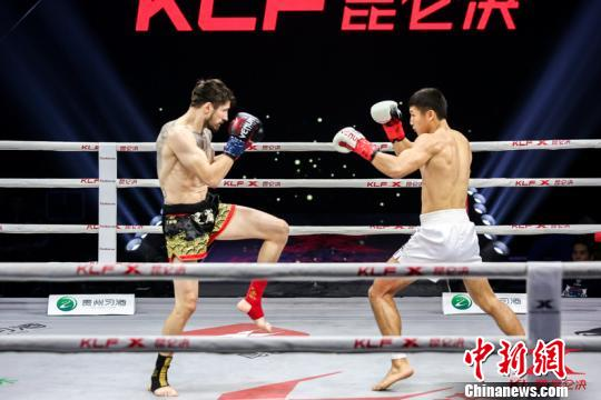 Kazakhstan's Bilyalov lifts 75kg golden belt over Chinese Zhang Yang at Kunlun Fight