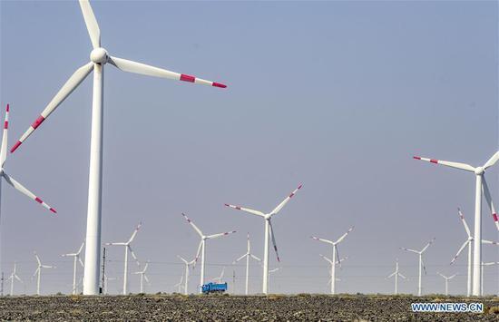 新疆看到可再生能源生产增长