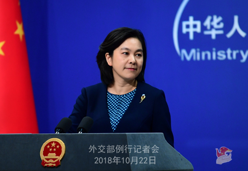 China urges relevant countries to resolve INF Treaty disputes through dialogue, consultation