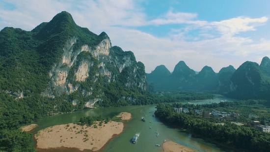 China's 'most scenic city' preserves its mother river