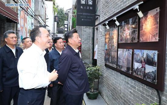Xi Jinping makes inspection tour in Guangzhou