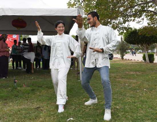 Cultural event leads Egyptians into Chinese life