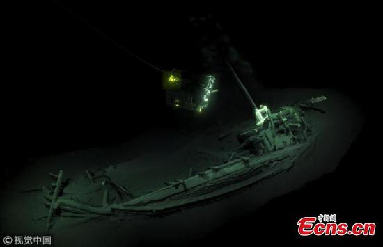 2,400-year-old Greek trading vessel discovered in Black Sea