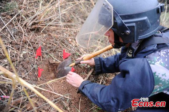 Guangxi completes mine clearance along Sino-Vietnam border
