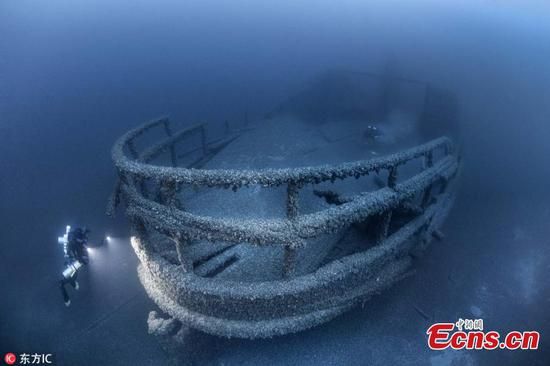 Boat found in Lake Huron 154 years after sinking