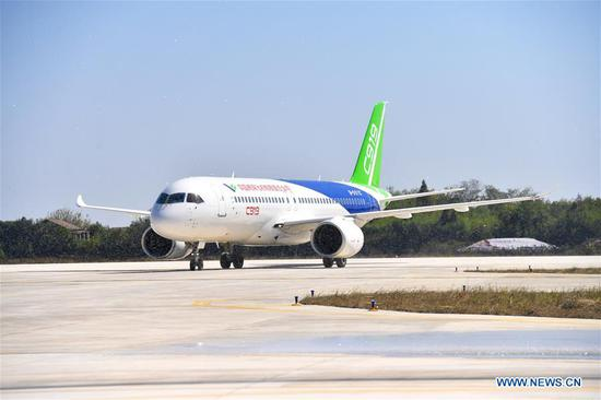 No 102 C919 plane to undergo rigorous tests in Jiangxi