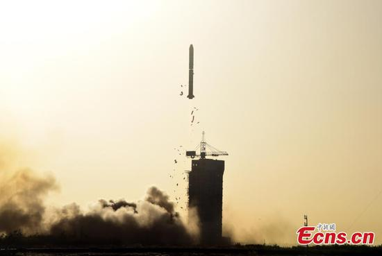China-France oceanography satellite launched from Jiuquan