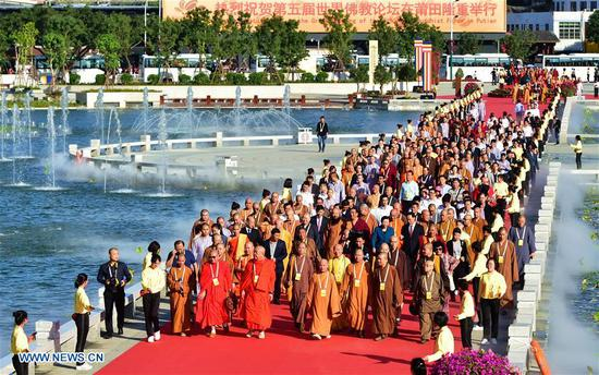 World Buddhist Forum opens in Fujian