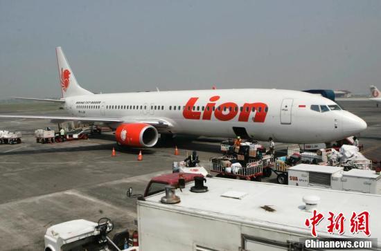 An Indonesian Lion Air passenger plane. (File photo/Agencies)
