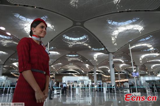 Istanbul opens new airport