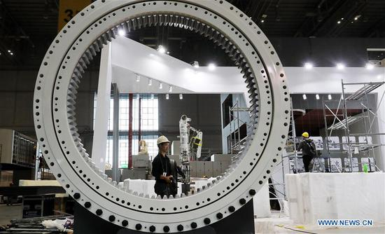 All exhibition halls to be ready for CIIE