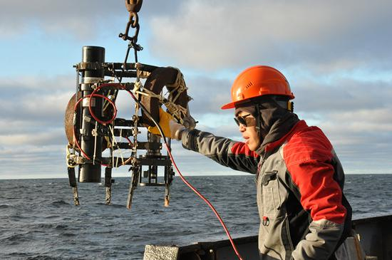 Sino-Russian expedition provides Arctic data