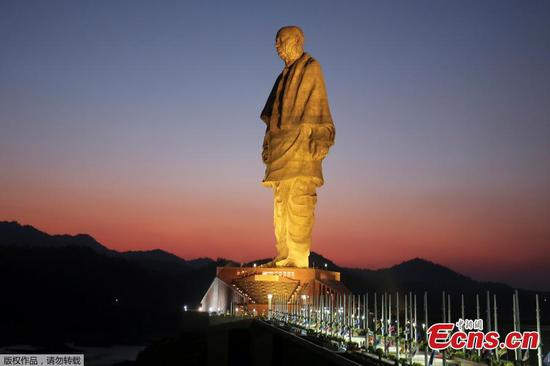 World's tallest statue inaugurated in India