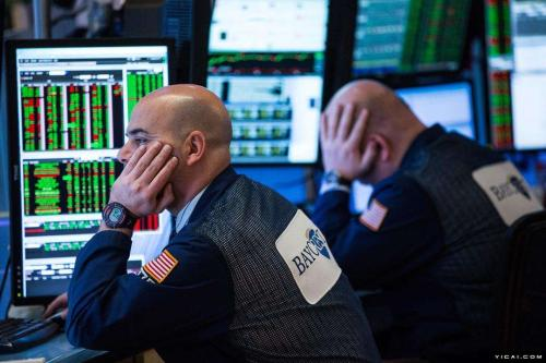 U.S. stocks fall amid Apple losses, jobs data