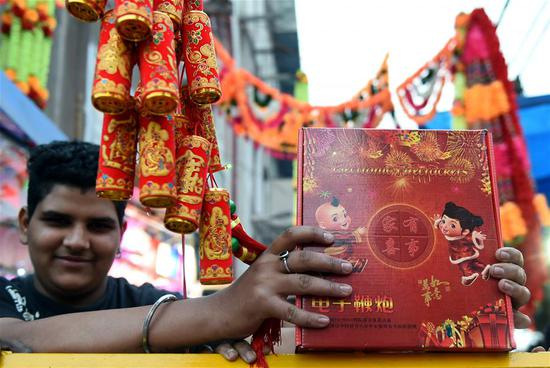 Chinese e-crackers a solution to Delhi's air pollution ahead of Diwali festival