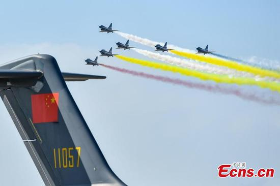 12th Airshow China kicks off in Zhuhai