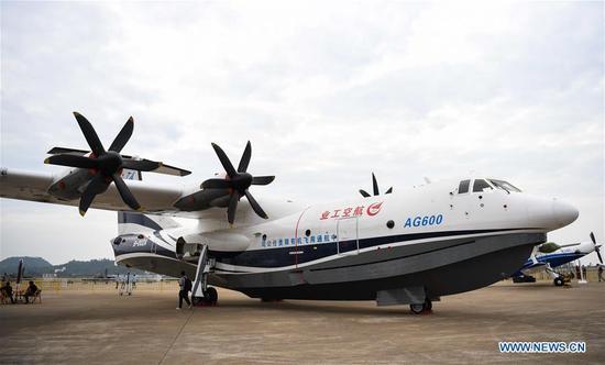 珠海中国国际航空航天展览会亮点