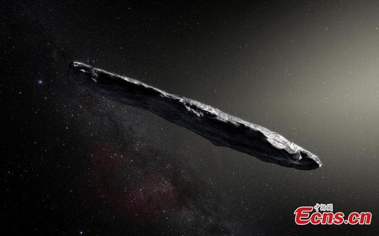 Harvard scientists say first interstellar object may be 'alien probe'