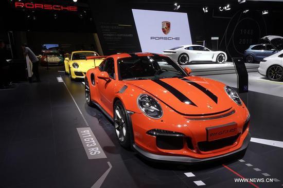 图片:第一届中国国际进口博览会车展