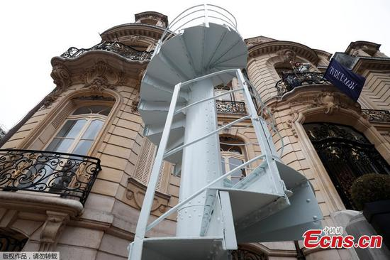 Eiffel Tower staircase to be sold at auction in Paris