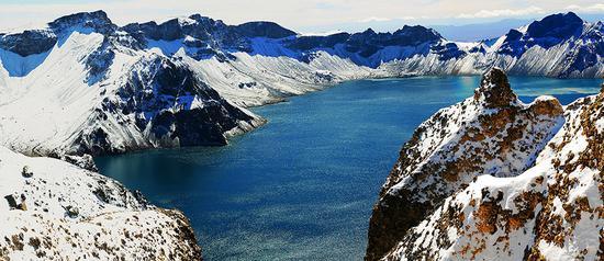 长白山是冬季度假的理想目的地