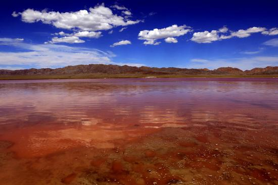 Salt lakes of Xinjiang