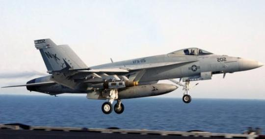 U.S. fighter jet crashes into sea off Okinawa, crew members eject to safety