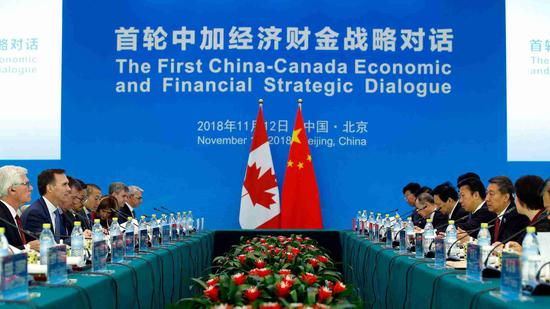 China and Canada agree to double trade revenue by 2025