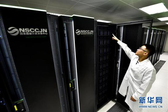 China expands supercomputer share in TOP500